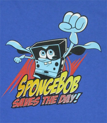 Spongebob Saves The Day! - Spongebob Squarepants Toddler T-shirt