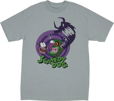 Scaredy Dog - Courage The Cowardly Dog T-shirt