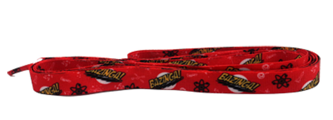 Bazinga! - Big Bang Theory Shoelaces