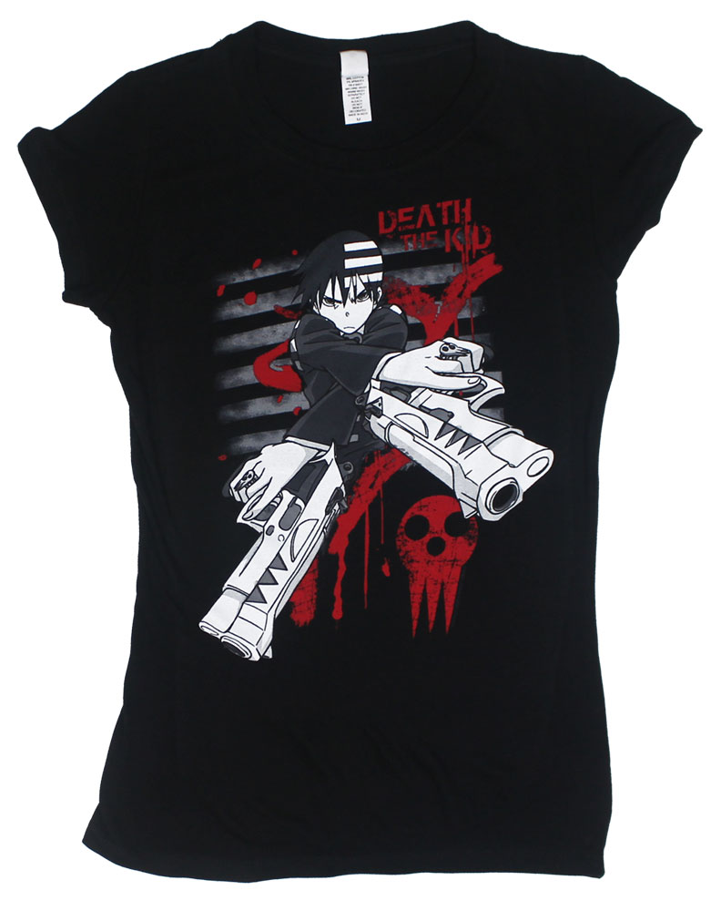 Striped Splatter - Soul Eater Juniors T-shirt
