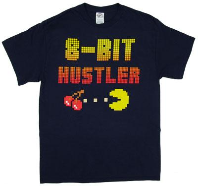 8-Bit Hustler - Pac-Man T-shirt
