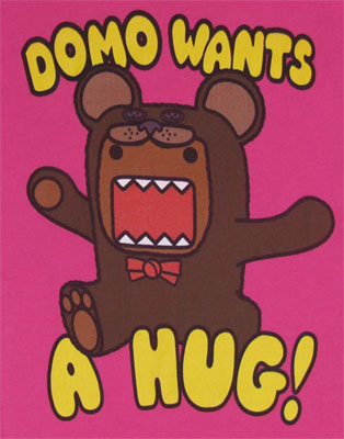 Domo Wants A Hug! - Domo-Kun Sheer Women's T-shirt