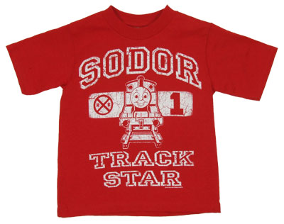 Sodor Track Star - Thomas The Tank Engine Juvenile And Toddler T-shirt