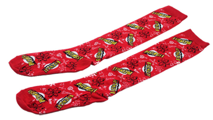 Bazinga! - Big Bang Theory Tube Socks