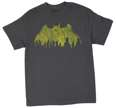 Vintage Batman Winged Emblem - DC Comics T-shirt