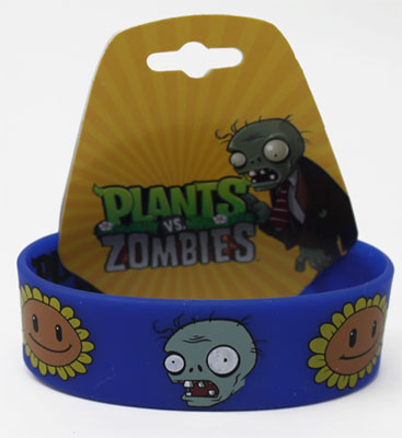 Sunflowers And Zombies - Plants Vs. Zombies Wristband