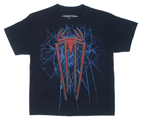 Spider-Man Logo - Amazing Spider-Man Youth T-shirt