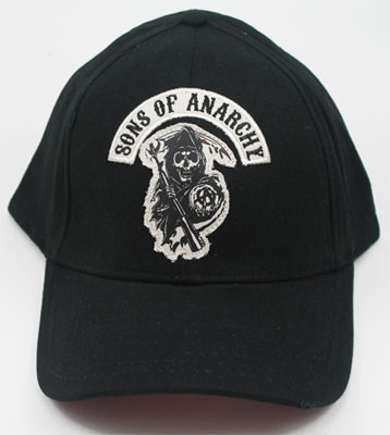 Sons Of Anarchy Fitted Baseball Cap