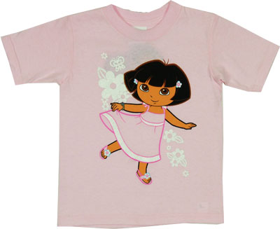 Dora In A Dress - Dora The Explorer Toddler T-shirt