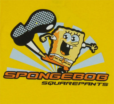 Spongebob Kick - Spongebob Squarepants Toddler T-shirt