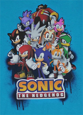 Sonic Gang - Sonic The Hedgehog Boys T-shirt