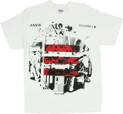 The Blueprint 3 - Jay-Z T-shirt
