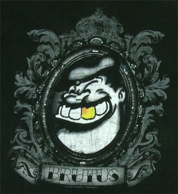 Brutus Face Popeye Mens Tee