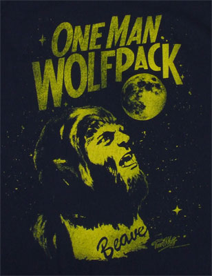 One Man Wolfpack - Teen Wolf T-shirt
