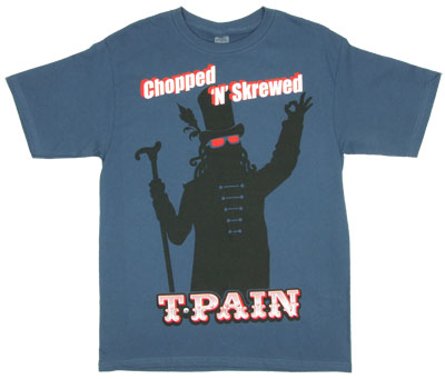 Chopped N Skrewed - T-Pain T-shirt