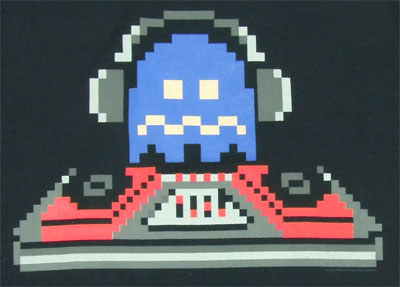 DJ Ghost - Pac-Man T-shirt
