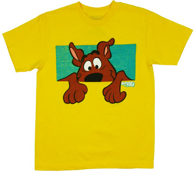 Peeping Over The Wall - Scooby Doo Boys T-shirt