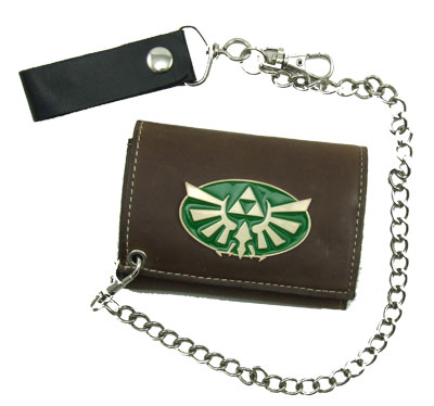 Zelda Triforce - Nintendo Chain Wallet