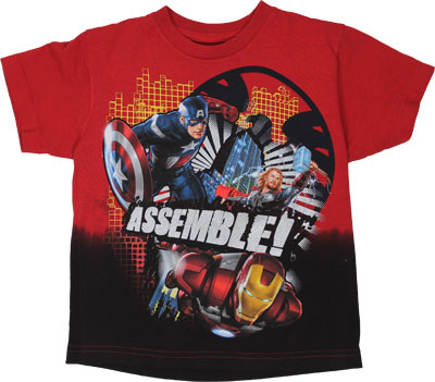 Assemble! - Avengers Juvenile T-shirt