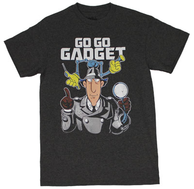 Go Go Gadget - Inspector Gadget T-shirt