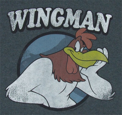 Wingman - Looney Tunes T-shirt