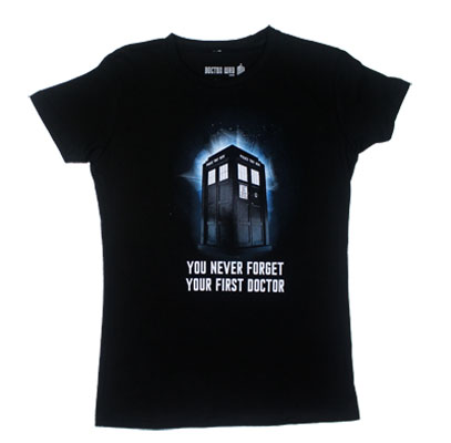 You Never Forget Your First Doctor - Dr. Who Juniors T-shirt