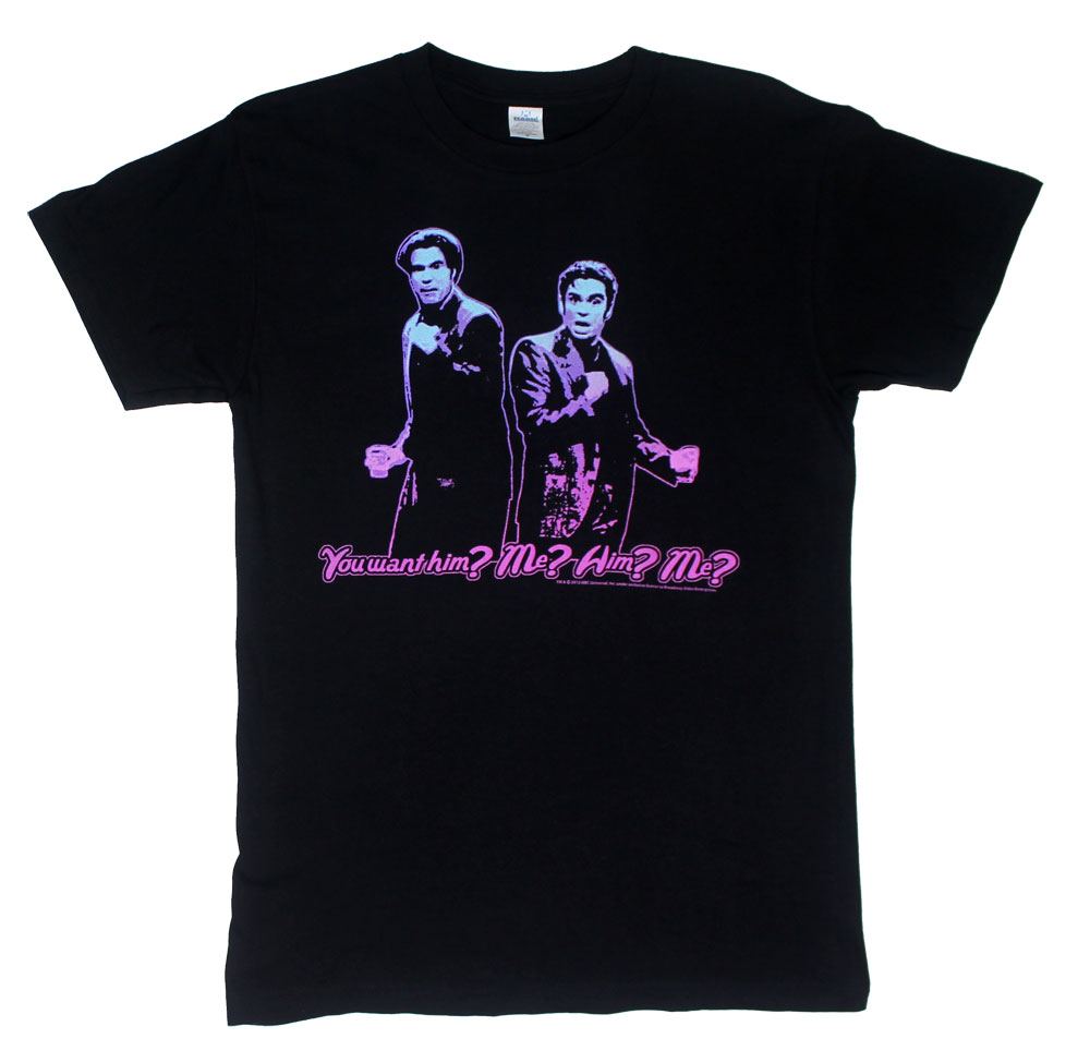 Him? Me? Him? Me?  - Saturday Night Live Sheer T-shirt