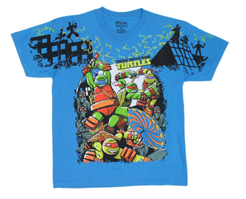 It's Turtle Time! - Teenage Mutant Ninja Turtles Juvenile And Youth T-shirt