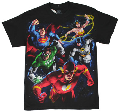Heroes And Villains - DC Comics Reversible T-shirt