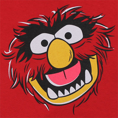 Animal Face - Muppets Toddler T-shirt