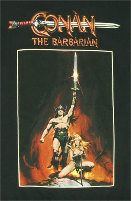 Conan The Barbarian Sheer T-shirt