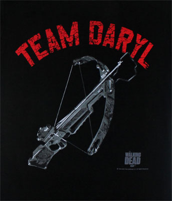 Team Daryl Crossbow - Walking Dead Juniors T-shirt