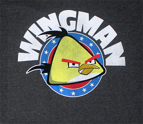 Yellow Wingman - Angry Birds T-shirt