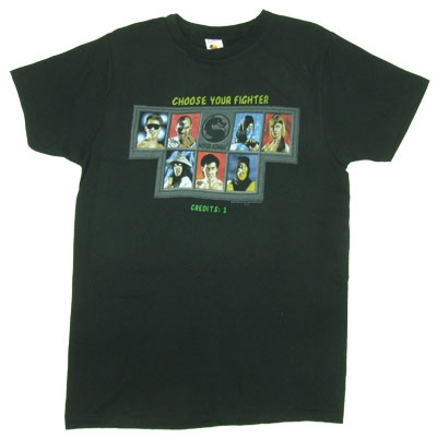 Choose Your Fighter - Mortal Kombat Sheer T-shirt