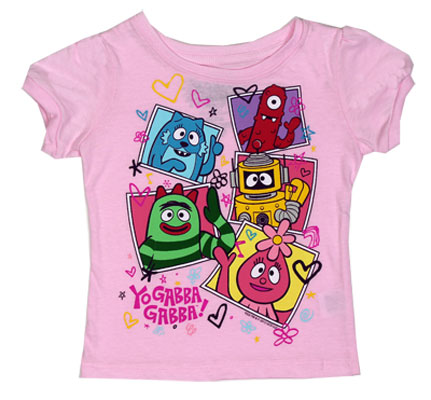 Portraits - Yo Gabba Gabba! Girls Infant And Toddler T-shirt