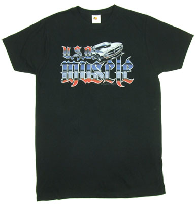 USA Muscle - Fast & The Furious Sheer T-shirt
