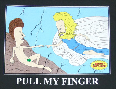 Pull My Finger - Beavis And Butthead T-shirt