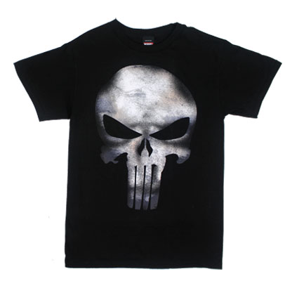 Punisher Logo (Skull Texture) - Marvel Comics T-shirt