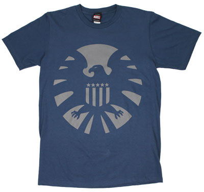 S.H.I.E.L.D. Logo - Marvel Comics Sheer T-shirt