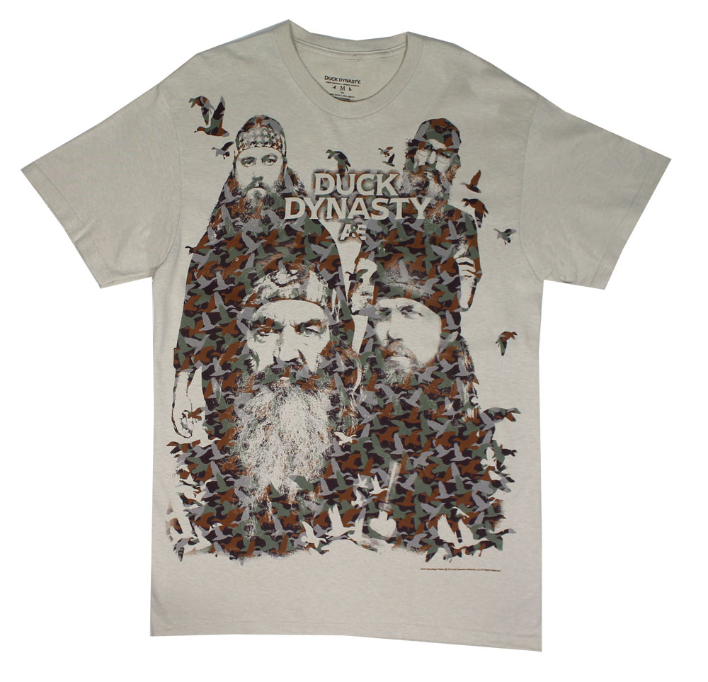 Duck Montage - Duck Dynasty T-shirt