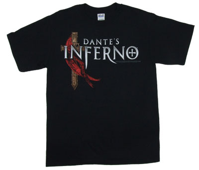 Logo And Cross - Dante&#039;s Inferno T-shirt