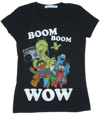 Boom Boom Wow - Sesame Street Sheer Women&#039;s T-shirt