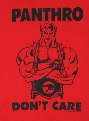 Panthro Don't Care - Thundercats T-shirt