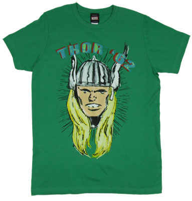 Thor &#039;62 - Marvel Comics Sheer T-shirt