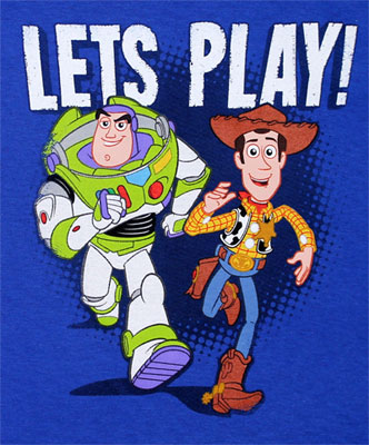 Lets Play! - Toy Story Toddler T-shirt