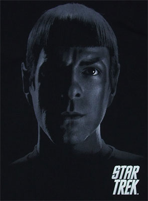 Spock Shadows - Star Trek Movie T-shirt