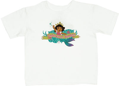 Underwater Wonders - Dora The Explorer Toddler T-shirt