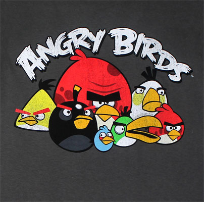 Pixels - Angry Birds Youth T-shirt