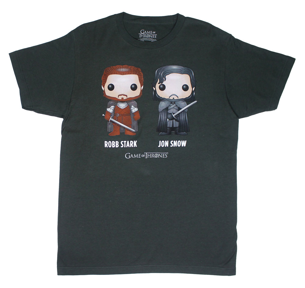 Cartoon Games - Game Of Thrones T-shirt