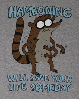 Hamboning - Regular Show T-shirt
